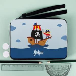 personalisierte Piraten-Federmappe