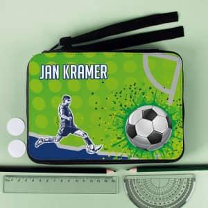 personalisierte Fußball-Federmappe